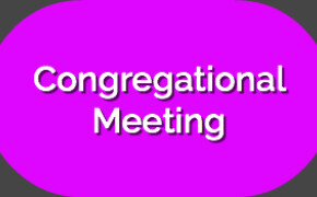 August 20, 2019 Congregational Meeting - Minutes