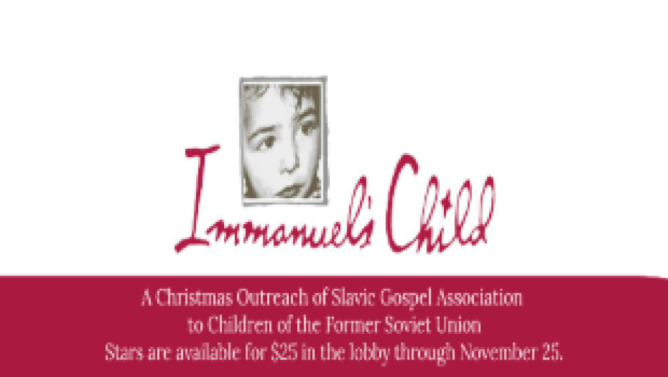 Immanuel's Child Stars Due