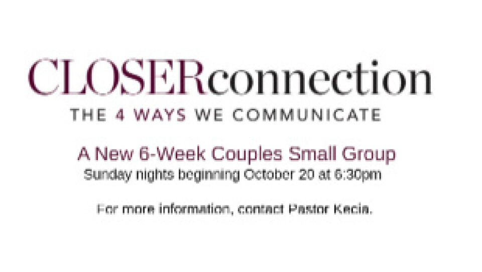 Married People Small Group